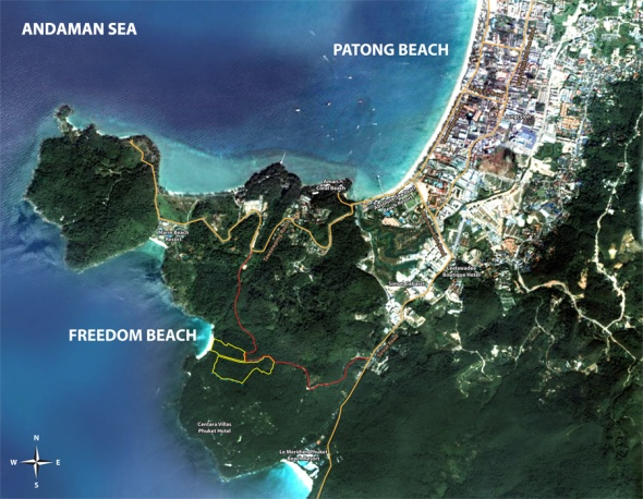 Freedom-Beach-Phuket-Map
